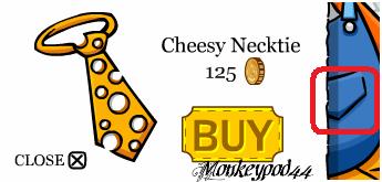 hidden-Cheesy Necktie