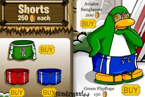Clothing Catalog-Shorts