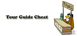 Tour Guide Cheat