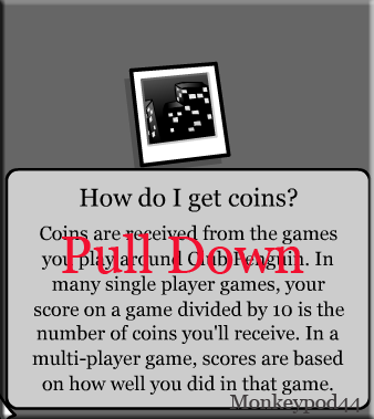 Pull Down Coins Instruction